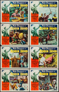 "Movie Posters:Adventure, The Story of Robin Hood (RKO, 1952). Lobby Card Set of 8 (11"" X14""). Adventure.. ... (Total: 8 Items)"