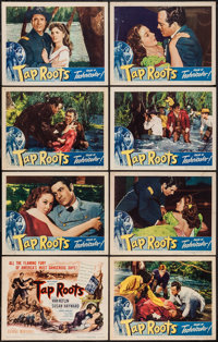 """Tap Roots (Universal International, 1948). Lobby Card Set of 8 (11"""" X 14""""). Drama. ... (Total: 8 Items)"""