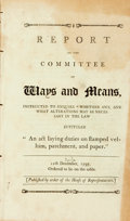 """Books:Americana & American History, United States: REPORT OF THE COMMITTEE OF WAYS AND MEANS,INSTRUCTED TO ENQUIRE """"WHETHER ANY, AND WHAT ALTERATIONS MAY BENECE..."""