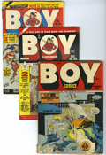 Golden Age (1938-1955):Superhero, Boy Comics Group (Lev Gleason, 1946-51). Included here are #31(GD+), #49 (FN), #50 (GD/VG), #53 (VF-), and #69 (GD+). All h...(Total: 5 Comic Books)