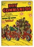 Golden Age (1938-1955):War, Boy Commandos #7 (DC, 1944) Condition: VG-. War cover by Simon andKirby. Overstreet 2006 VG 4.0 value = $108. From the Co...