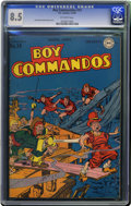 Golden Age (1938-1955):War, Boy Commandos #14 (DC, 1946) CGC VF+ 8.5 Off-white pages. Where hasthis issue (with a great underwater cover) been hiding? ...