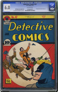 Golden Age (1938-1955):Superhero, Detective Comics #47 (DC, 1941) CGC FN 6.0 Off-white pages. Only a handful of copies have been certified with higher grades ...