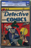 Golden Age (1938-1955):Superhero, Detective Comics #49 (DC, 1941) CGC FN+ 6.5 Off-white pages. The highest-graded copy of this issue as of this writing is jus...