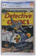 Golden Age (1938-1955):Superhero, Detective Comics #70 (DC, 1942) CGC VF 8.0 Off-white to white pages. A standout Jerry Robinson cover leads off this issue. I...