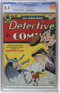 Golden Age (1938-1955):Superhero, Detective Comics #82 (DC, 1943) CGC VF+ 8.5 Off-white to white pages. By far the nicest copy we've seen of this issue, this ...