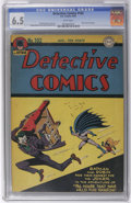 Golden Age (1938-1955):Superhero, Detective Comics #102 (DC, 1945) CGC FN+ 6.5 White pages. The Joker really does steal an entire mansion in this issue... not...