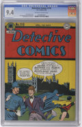 Golden Age (1938-1955):Superhero, Detective Comics #110 (DC, 1946) CGC NM 9.4 Off-white to white pages. We were doubly pleased to spot this copy in Harold Cur...