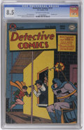 Golden Age (1938-1955):Superhero, Detective Comics #117 (DC, 1946) CGC VF+ 8.5 Off-white to white pages. Batman and Robin take on some crooked steeplejacks (i...