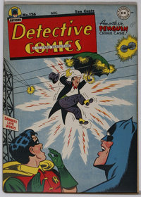 Detective Comics #126 (DC, 1947) Condition: VF+. This copy couldn't be slabbed by CGC because of an overhang, but since...