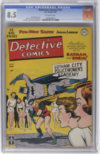 Detective Comics #157 (DC, 1950) CGC VF+ 8.5 Off-white pages. The nice cover colors of this original-owner copy are sure...