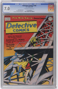 Golden Age (1938-1955):Superhero, Detective Comics #160 (DC, 1950) CGC FN/VF 7.0 Off-white to white pages. This is the first time we've offered this issue, an...