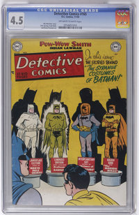 Detective Comics #165 (DC, 1950) CGC VG+ 4.5 Off-white to white pages. Win Mortimer cover. Dick Sprang art. Overstreet 2...