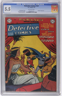 Detective Comics #167 (DC, 1951) CGC FN- 5.5 Off-white pages. Win Mortimer cover. Pow-Wow Smith and Robotman backup feat...