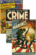 Golden Age (1938-1955):Miscellaneous, Miscellaneous Golden Age Group (Various Publishers, 1944-51). Included here are A-1 Comics #nn (featuring Kerry Drake; G... (Total: 13 Comic Books)