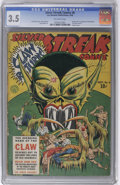 Golden Age (1938-1955):Superhero, Silver Streak Comics #6 (Lev Gleason, 1940) CGC VG- 3.5 Off-white pages. This book's one of Overstreet's 100 most valuable G...