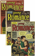 Golden Age (1938-1955):Romance, Young Romance Comics Group (Prize, 1948-50). We can't decide whatwe like better, the drama-packed Simon and Kirby covers on...(Total: 8 Comic Books)
