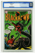 Silver Age (1956-1969):War, Blackhawk #224 (DC, 1966) CGC NM 9.4 Off-white pages. Dick Dillin and Chuck Cuidera art. Overstreet 2006 NM- 9.2 value = $32...