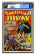 Silver Age (1956-1969):Adventure, Challengers of the Unknown #34 Pacific Coast pedigree (DC, 1963) CGC NM 9.4 Off-white to white pages. Bob Brown art. Overstr...