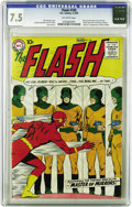 Silver Age (1956-1969):Superhero, The Flash #105 (DC, 1959) CGC VF- 7.5 Off-white pages. This is oneof the ten most valuable Silver Age comics according to O...