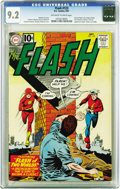 Silver Age (1956-1969):Superhero, The Flash #123 (DC, 1961) CGC NM- 9.2 Off-white to white pages. Wecan't imagine a DC fan who wouldn't want this copy. It's ...