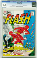 Silver Age (1956-1969):Superhero, The Flash #125 (DC, 1961) CGC NM 9.4 Off-white to white pages. TheFlash figured out how to travel through time using nothin...