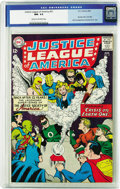 Silver Age (1956-1969):Superhero, Justice League of America #21 (DC, 1963) CGC NM- 9.2 Cream to off-white pages. This is a key issue for Golden and Silver Age...