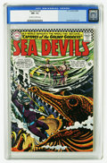 Silver Age (1956-1969):Adventure, Sea Devils #29 (DC, 1966) CGC NM- 9.2 Off-white to white pages....