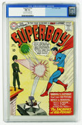 Silver Age (1956-1969):Superhero, Superboy #125 (DC, 1965) CGC NM 9.4 Cream to off-white pages. First appearance of Kid Psycho. Curt Swan cover. George Papp a...