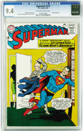 Silver Age (1956-1969):Superhero, Superman #175 (DC, 1965) CGC NM 9.4 Off-white to white pages. Imaginary story time! Lex Luthor and Clark Kent are brothers, ...