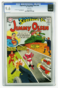 Superman's Pal Jimmy Olsen #99 (DC, 1967) CGC NM+ 9.6 White pages. Curt Swan cover. Pete Costanza art. Overstreet 2006 N...