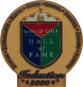 Golf Collectibles:Medals/Jewelry, 2000 World Golf Hall Of Fame Induction Pin From The Sam SneadCollection....
