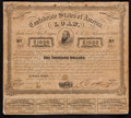 Confederate Notes:Group Lots, Ball 241 Cr. 122 $1000 Bond 1863 Very Good.. ...
