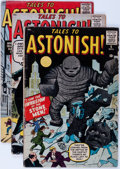 Golden Age (1938-1955):Horror, Tales to Astonish #2-4 and 6 Group (Marvel, 1959).... (Total: 4Comic Books)