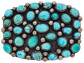 Estate Jewelry:Other , Turquoise, Silver Belt Buckle. ...