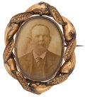 Estate Jewelry:Brooches - Pins, Photograph, Gold Pendant-Brooch. ...