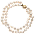 Estate Jewelry:Pearls, Cultured Pearl, Gold Bracelet. ...