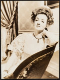 "Movie Posters:Drama, Bette Davis in The Little Foxes by George Hurrell (RKO, 1941). Portrait Photo (9.25"" X 12.5""). Drama.. ..."