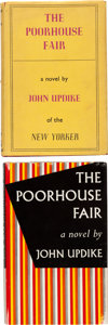 Books:Literature 1900-up, John Updike. The Poorhouse Fair. London: Victor Gollancz,1959. First English edition of his first novel. Presenta... (Total:2 Items)