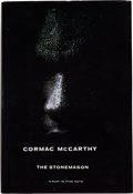 Books:Literature 1900-up, Cormac McCarthy. The Stonemason. A Play in Five Acts.[Hopewell]: The Ecco Press, [1994]. First edition. Presentat...