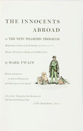 Books:Literature Pre-1900, [Limited Editions Club]. Fritz Kredel, illustrator. SIGNED/LIMITED. Mark Twain. The Innocents Abroad. New York: ...