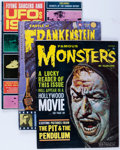 Magazines:Horror, Famous Monsters of Filmland Plus Silver to Bronze Age Magazine Box Group (Warren, 1960s-80s) Condition: Average FN....