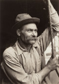 Photographs, LEWIS HINE (American, 1874-1940). Untitled, circa 1910. Sepia toned gelatin silver. 6-1/4 x 4-3/8 inches (15.9 x 11.1 cm...
