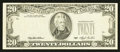 Error Notes:Missing Third Printing, Fr. 2079-? $20 1993 Federal Reserve Note. Extremely Fine.. ...