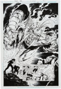 Original Comic Art:Splash Pages, Philip Tan and Jonathan Glapion Green Lantern V4 #42 SplashPage 10 Original Art (DC, 2009)....