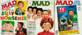 Books:Periodicals, [Periodical]. Three Issues of MAD Magazine. 1983-1984. Original wrappers. Some rubbing to covers. Mild foxing. Very good. . ... (Total: 3 Items)
