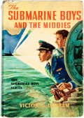 Books:Children's Books, Victor G. Durham. The Submarine Boys and the Middies. Akron:Saalfield, [1909]. Assumed first edition. Publisher's c...