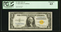 Small Size:World War II Emergency Notes, Fr. 2306 $1 1935A North Africa Silver Certificate. F-C Block. PCGS Choice New 63.. ...
