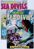 Silver Age (1956-1969):Miscellaneous, Showcase #28 and 29 Sea Devils Group (DC, 1960) Condition: AverageVG.... (Total: 2 Comic Books)