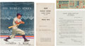 Baseball Collectibles:Tickets, 1939 World Series Program, Full Ticket & Press Information. ...